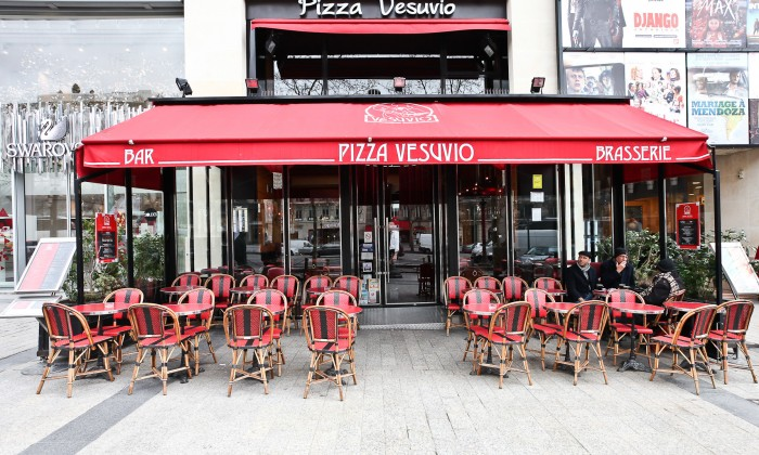 Photo Pizza Vesuvio - Champs Elysées