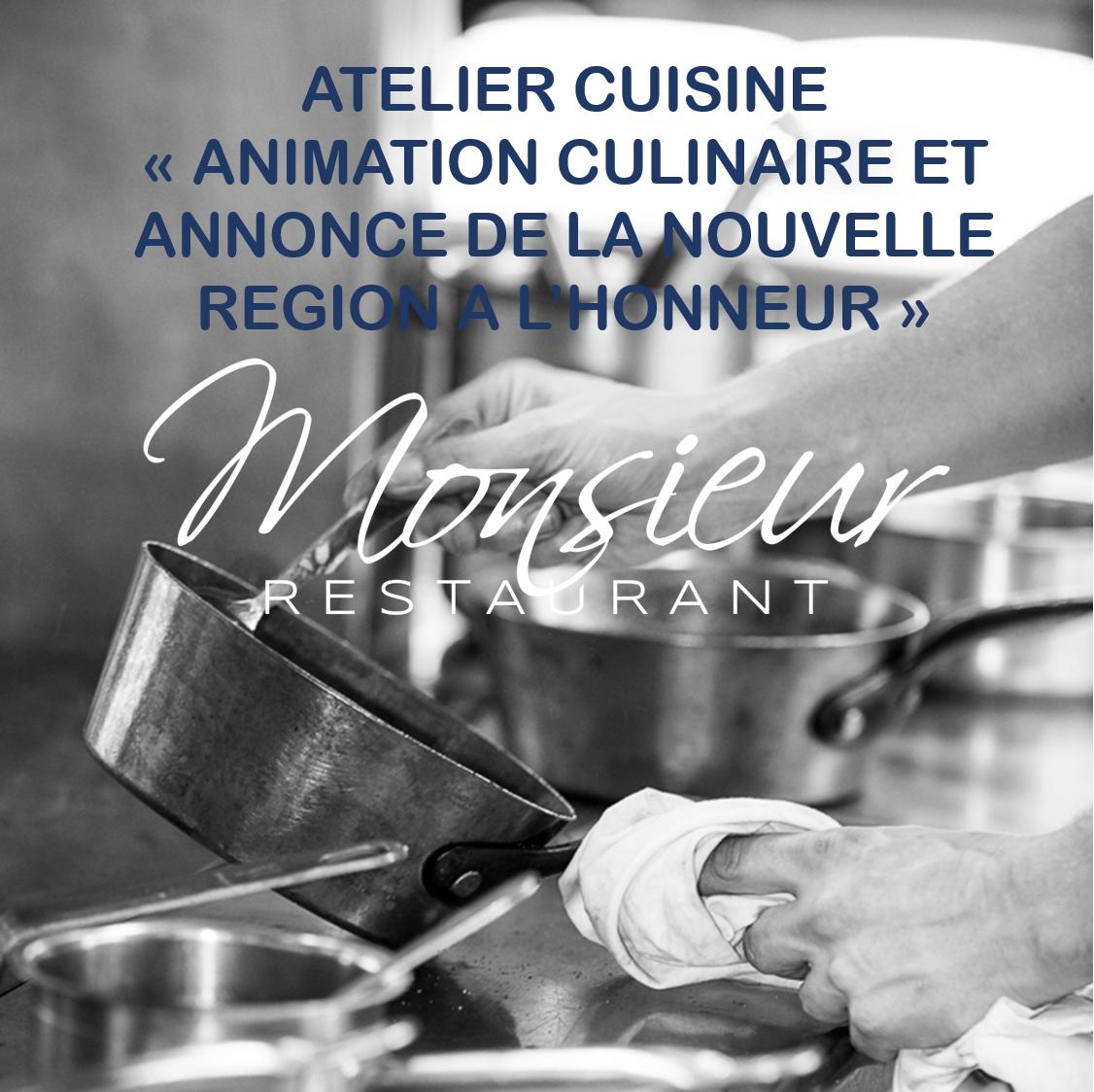 Atelier Cuisine / 4ème mercredi de chaque mois