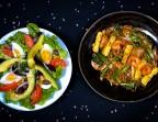 Photo Salade composée /Pad Thai à la Mauricienne - Les Filaos
