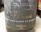 Photo Pinot Noir  2017 Cuvée Pierric Domaine Gérard Metz - Clémentine, Terrasse du Quartier Bourse - Maître Restaurateur