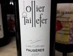 Photo Faugères 2017 Domaine Ollier taillefer - Clémentine, Terrasse du Quartier Bourse - Maître Restaurateur