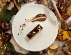 Photo Bûche Chocolat Noisettes Caramel - La Taverne Table de Caractère - Chasseneuil