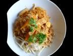 Photo Pad Thai poulet (relevé) - OriJInes OJI