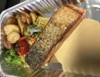 Photo Pavé de saumon moelleux, fondue de choux et pommes grenailles - Le Bistrot d'Alex