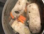 Photo Tête de veau sauce ravigote, carottes et pomme vapeur - Le Bistrot d'Alex