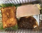 Photo Foie gras de canard maison, chutney, cake façon pain d'épices - Le Bistrot d'Alex
