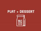 Photo Plat + dessert - Aux Dés Calés 17 - Legendre