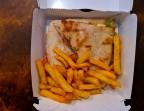Photo Focaccia Cochon qui rit + frites - Aux Dés Calés 17 - Legendre