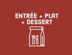 Photo Entrée + plat + dessert - Aux Dés Calés 17 - Legendre