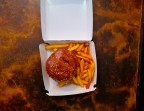 Photo Burger Végétarien - Aux Dés Calés 17 - Legendre