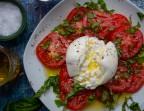 Photo Salade de tomates et sa Burrata - Léchalote