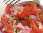 Photo tomate à l'échalote - Léchalote