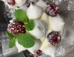 Photo Cheese cake vanille, framboises fraiches  - La Bisquine