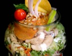 Photo Salade thai, tataki de thon. - LE BOUCHON