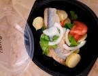 Photo le filet de hareng mariné et ses pommes de terre aux aromates - LA CAUSETTE