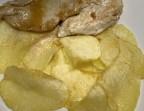 Photo Pechuga de pollo a la plancha con patatas fritas - A Banda Restaurante