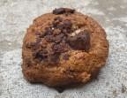 Photo Cookie Beurre de Cacahuète, Chocolat Noir et Fleur de Sel - SOYA CANTINE BIO