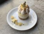 Photo Dessert du jour: Cajou'Cake Piña Colada - SOYA CANTINE BIO
