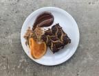Photo Dessert du jour: Brownie Tahini Swirl - SOYA CANTINE BIO