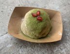 Photo Dessert du Jour: Mochi Thé Vert Matcha Chocolat - SOYA CANTINE BIO