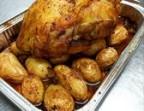 Photo Poulet Rôti Certifié et pommes de terre  - Plaisirs d'Antan