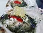 Photo Huître marinée - Saveurs Salines