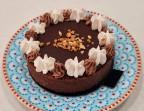 Photo Tarte chocolat Praliné  - O Gourmandises d'Ange