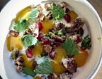 Photo Riz au lait, mangue et pécan caramélisés - LA VERAISON