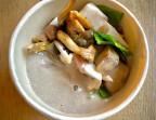Photo Crème de champignons, châtaignes et jambon blanc   - LA VERAISON