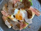 Photo Carbonara de salsifis à la truffe noire - LA VERAISON