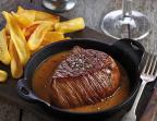 Photo Véritable steak au poivre - Cafe Leffe Besançon
