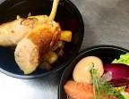 Photo Suprême de poulet fermier au foie gras - H.KITCHEN