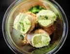 Photo Noix de Saint Jacques au beurre de basilic, risotto de céleri rave et croquettes de pommes de terre au parmesan. - Le stras'