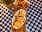 Photo Poulet au maroilles / frites - Chez Raoul Estaminet