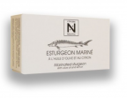 Photo Filets d'Esturgeon Marinés huile d'olive & citron (120g) - La Cantine de Mémé
