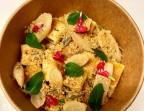Photo Gnocchi de ricotta au beurre de sauge, salsifis fondant, ricotta salatta - La Cantine de Mémé