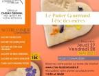 Photo Panier Gourmand Fête des mères - Cuisine Mode d'Emploi(s) - La Salamandre