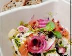 Photo Rillette de poissons maison et ses condiments - Verre Chez Moi