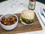 Photo Burger Veggie + frites + Boisson - Bistrot Rougemont