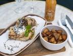Photo Kebab de Paleron Boeuf + Frites + Boisson - Bistrot Rougemont