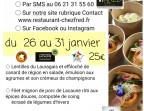 Photo Filet mignon de porc de Lacaune rôti aux épices douces et compotée de coing - Chez fred