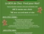 Photo Brochette de Saint-Jacques et gambas, crème de coquillages safranée - Chez fred