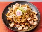 Photo Riz sauté crevette/poulet et légumes - YUKI