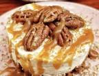 Photo Cheesecake dulce de lece, noix de pecan - ONE & ONE PARIS