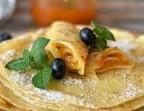 Photo Crêpe Citron ou Orange Pressée sucre - LA FERME DE DIANE