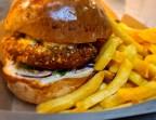 Photo Burger Végétarien - Aux Dés Calés 18 - Moreau