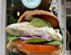 Photo Burger Poulet Guacamole Cucina Eat - Cucina Eat