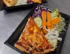 Photo Tarte aux légumes grillés parfum de muscade et salade composée - Folles Saisons