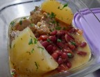 Photo Sauté de porc façon colombo pommes de terre fondantes et haricots rouges - Folles Saisons