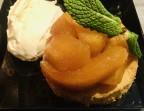 Photo Pommes caramélisées sur sablé breton crème fouettée à la vanille   - L'Ange 20